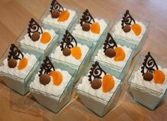 Semifreda a kelímky Pudding, Cake, Desserts, Photograph Album, Tailgate Desserts, Deserts, Custard Pudding, Kuchen, Puddings
