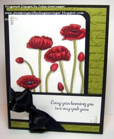 FMS142 Every Year Knowing You by Julie Gearinger - Cards and Paper Crafts at Splitcoaststampers