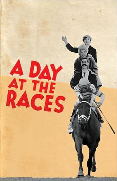 """Illustration for Marx Brothers' """"A Day at the Races"""""""