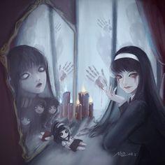・COMPLETE BOOK・ This is Random book okay~! Σ( ̄ロ ̄lll) This book is f… # Ngẫu nhiên # amreading # books # wattpad Evil Anime, Dark Anime, Arte Horror, Horror Art, Fanart, Beautiful Dark Art, Dark Drawings, Junji Ito, Arte Obscura