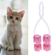 Pet Cat Thin Face Massager Feet Leg Massage Health Care Grooming Tool Relaxer #Unbranded