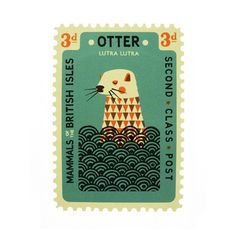 Otter by Tom Frost