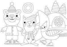 Pikku Kakkosen tulostettavat värityskuvat. Free printable pattern. lasten | askartelu | tulostettava | kesä | käsityöt | koti | väritys | värityskuva | värittäminen | DIY ideas | kid crafts | summer | home | colouring | coloring | Pikku Kakkonen Free Printable Coloring Pages, Free Printables, Early Childhood Education, Crafts To Do, Diy Gifts, Kids Rugs, Children, Winter, Cards