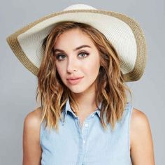 NWT  cream two toned sun hat Brand new Accessories Hats