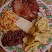 Desayuno typico in Honduras