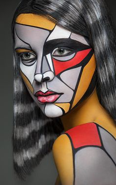 7 | Insane Makeup Turns Models Into 2-D Paintings Of Famous Artists | Co.Design | business + design