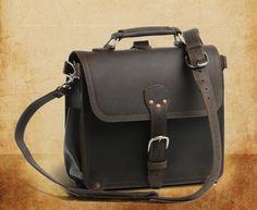 Large satchel from Saddleback leather - my bag that I rely upon every single day. I LOVE IT.