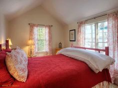 Maine Real Estate from Legacy Properties SIR - MLS - Single Family Home at 28 & 34 Seaside Farm Road, Friendship, Maine 04547 Maine Real Estate, Red Interiors, Sothebys International Realty, Furniture, Property, Home Decor, Maine Waterfront, Home And Family, Red Interior Design