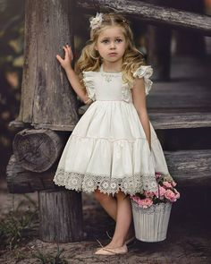 That Darling Dress by Irina Chernousova Cute Flowergirl Dresses for Bridesmaids at Your WeddingBeautiful dresses for girls year: the best ideas images for young princessesImage may contain: 1 person Baby Girl Dresses, Baby Dress, Cute Dresses, Flower Girl Dresses, Dresses For Kids, Lace Flower Girls, Beautiful Dresses, Little Girl Outfits, Little Girl Fashion