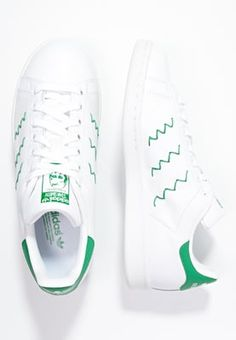 release date: 0b37f bf5ff adidas Originals STAN SMITH - Sneakers basse - whitegreen a € 54,00