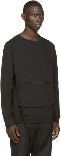 Marcelo Burlon County of Milan Black Gragores Sweatshirt