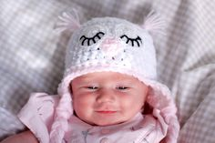 OWL HAT AND BLANKET PATTERN