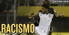 A eliminação do Corinthians na Libertadores, na noite dessa quarta-feira, acarretou alguns xingamentos racistas de torcedores alvinegros contra o jogador