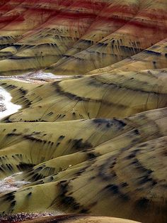 John Day Fossil Beds National Monument, Painted Hills, Oregon, USA