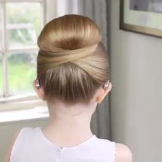 Easy Hairstyles Bun Beauty is part of Easy Different Bun Hairstyles For Short Hair Milabu - Cute hairstyle for little girls ⭐️ hair haircut beautiful beauty best hairart hairstyles Sweet Hairstyles, Pretty Hairstyles, Braided Hairstyles, Cute Girls Hairstyles, Hairstyles Videos, Girl Hair Dos, Baby Girl Hair, Hair Upstyles, Elegant Wedding Hair