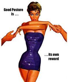 Jantzen Glamour Pin Up Advert - Pete Hawley Retro Ads, Vintage Advertisements, Vintage Ads, Vintage Posters, Clothing Advertisements, 1950s Advertising, Vintage Soul, Creative Advertising, Better Posture