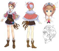 Rorolina Concept ✤ || CHARACTER DESIGN REFERENCES | キャラクターデザイン || ✤  ( Casual & very cute~ )