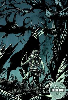 Art by Becky Cloonan for The Bing Bang