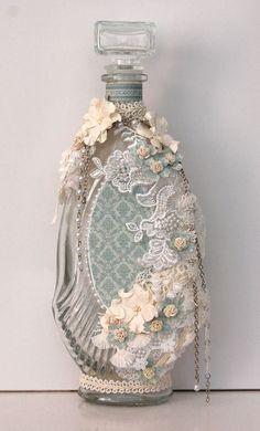 Botella De Vidrio alterado