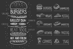 Classic Cheeseburger. Infographic Templates. $10.00