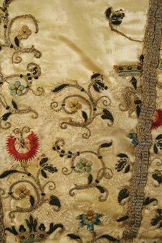 Doublet Date: 1600 Culture: European, Eastern Medium: silk; embroidery detail.