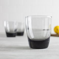The Classic Smoke Drinking Glasses from Libbey is an elegant addition to your dinnerware. Perfect for everyday dinning, as well as for entertaining guests.