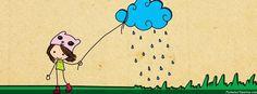 Portadas para facebook ilustracion lluvia portada para facebook