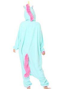 0c811b6375 Erwachsene Schlafanzug Anime Kost¨¹m Unisex Kigurumi Pyjama Einhorn Cosplay  Hot  Affiliate  Kost
