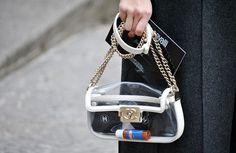 Milan Fashion Week 2013 Street Style accessories Global Blue