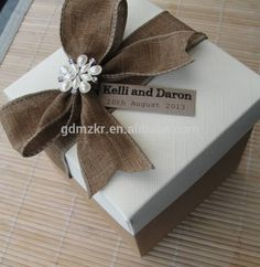 Check out this product on Alibaba.com App:Vintage Style Personalised Wedding Favor Empty Gift Box https://m.alibaba.com/MRvUvq