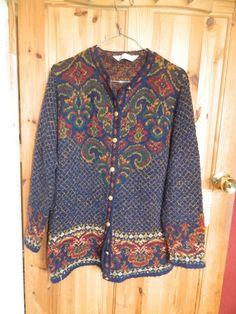 St.Michael M&S VINTAGE Oversized Cardigan  £21.00 (9B)