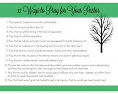 10 Ways to encourage your pastor that will make him feel blessed and appreciated. Perfect list to remember during Pastor Appreciation month.