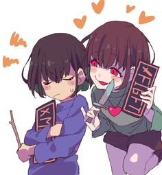 #Undertale #Chara #Frisk