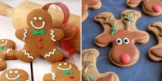 Gingerbread Man Cookie Hack - Christmas Cookie Trick