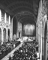Photographed at the Blessing and opening of Our Lady and St. Nicholas at Galway by his Eminance Cardinal Cushing, Archbishop of Boston and Papal Legate. 15.08.1965. Our Lady, Blessed