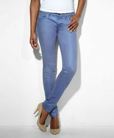 Modern Demi Curve Skinny Jeans - Iridescent Tanzanine - Levi's - levi.com