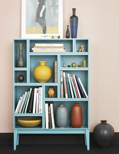 The Design Chaser: Bookshelves | Ideas for the Home Love this bookshelf! Could be a DIY
