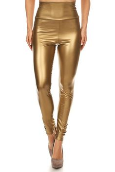 J2 LOVE Made in USA Faux Leather High Waisted Leggings (S-5X) >>> This is an Amazon Affiliate link. Click image to review more details.