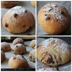 Demain c'est mercredi, voilà pourquoi je vous propose cette recette de petits pains au lait aux pépites de chocolat, très facile à préparer, très moelleux, parfaits pour le goûter des enfants…