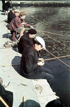 pêche à Paris sous l'occupation 1940-1944