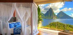 Resorts Jade Mountain en Santa Lucia es diferente de los demás hoteles de lujo | Ver Y Visitar