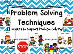 problem solving in kindergarten