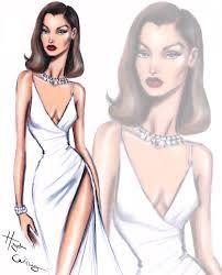 Hayden Williams Fashion Illustrations | Bella Hadid ...