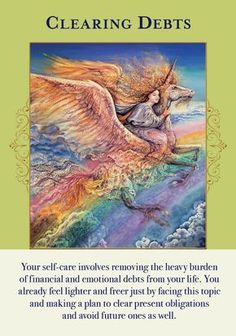 Oracle Card Clearing Debts | Doreen Virtue - Official Angel Therapy Website