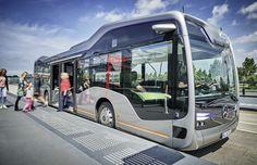 Mercedes-Benz презентовал беспилотный автобус CityPilot