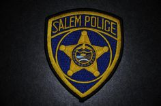 Salem Police Patch, Marion County, Oregon (Current Issue) - Capitals Display