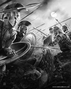 Spartani contro Persiani
