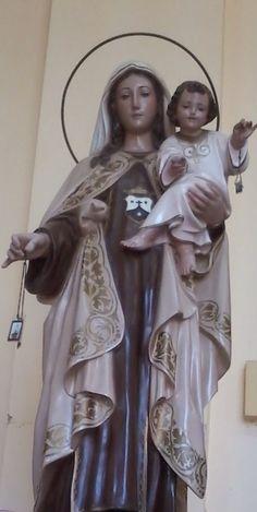Nuestra Señora del Carmen .Patrona de la orden de los Carmelitas