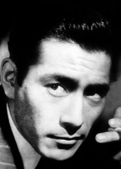 Toshiro Mifune - the quintessential Japanese alpha male in the movies from the years after WWII.