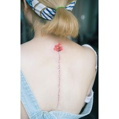 🌷 . 🇰🇷Calligraphy . #tattoo#tattooist#tattooistsol#솔타투#lettering#soltattoo#color#colortattoo#꽃타투#flowertattoo#flower#꽃 #타투#솔타투#타투이스트솔#척추레터링#calligraphy